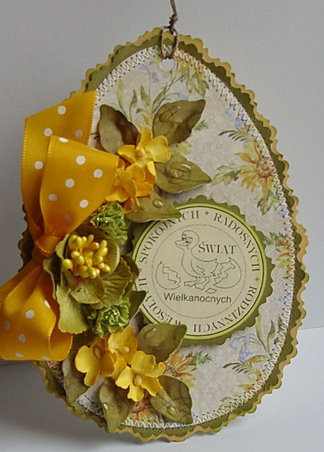 From Dorota Kopec In Stalowa Wola Podkarpackie Poland Easter Cards Easter Crafts Easter Projects