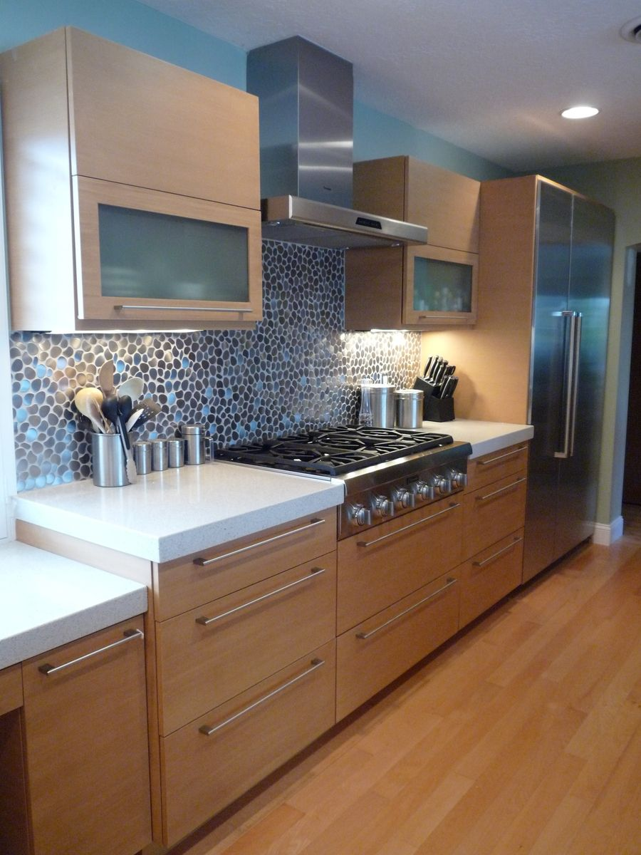 Hand Crafted Bamboo Kitchen (Faux) by European Cabinets ...