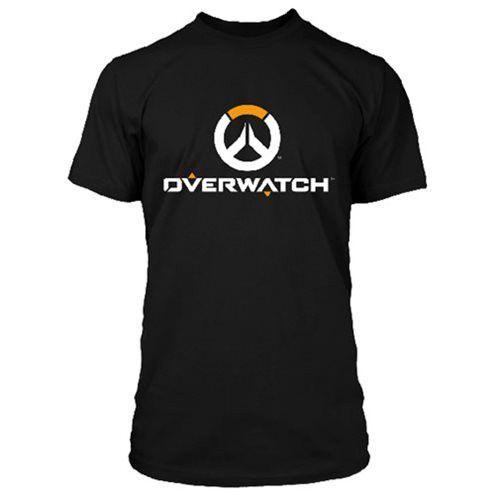 Overwatch Full Logo Black T-Shirt