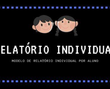 Modelo De Relatorio Individual Para Educacao Infantil Avaliacao