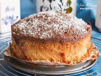 Rezept Kleiner Kokoskuchen Mit Schokoguss Fur Kokosfans Bild Nr 7689 Kleine Kuchen Backen Kuchen Kuchen Rezepte