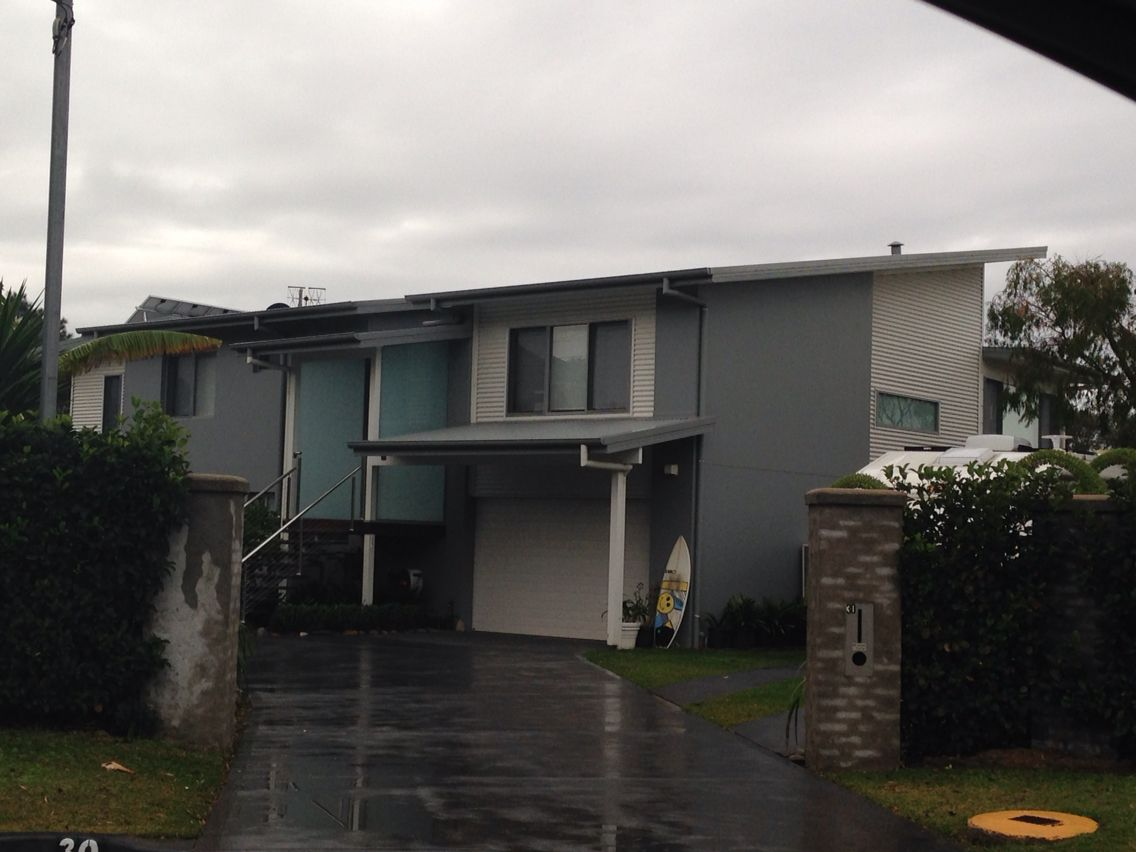 Colorbond roofing colours pictures to pin on pinterest - Windspray And Surfmist