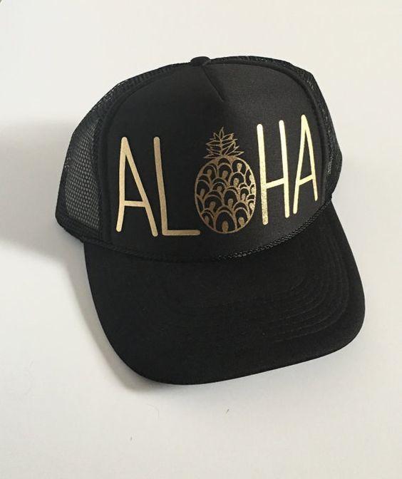 2da5e6a8783c4 Aloha Trucker Hat