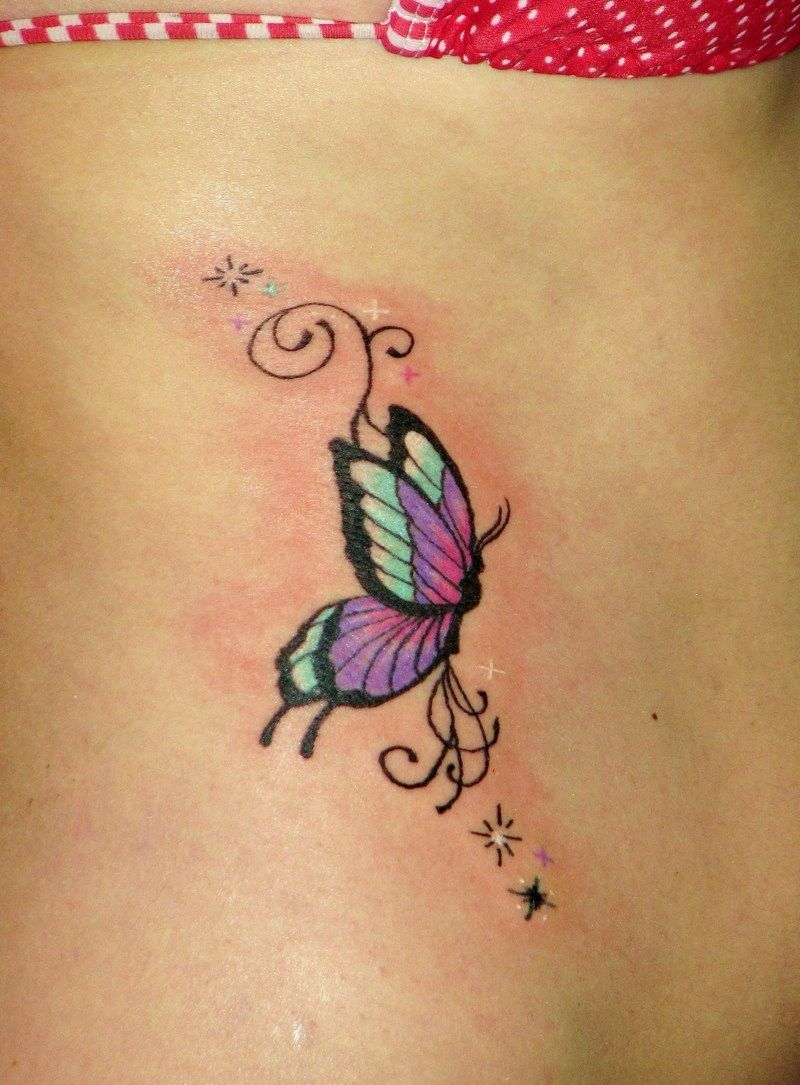 50 Amazing Butterfly Tattoo Designs Small butterfly