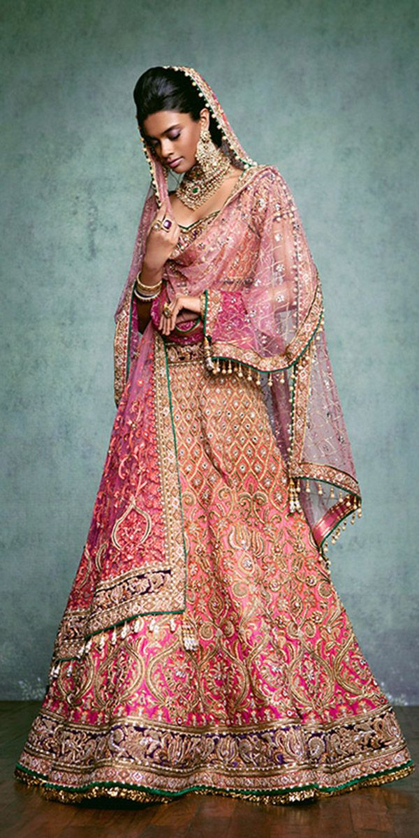 30 Exciting Indian Wedding Dresses That You\'ll Love | Vestidos de ...
