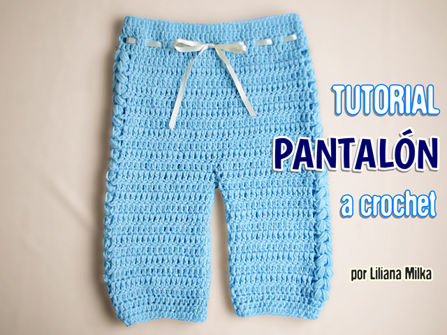 Pantalon Ajuar Bebe Progresion De Talles Paso A Paso Crochet Ropa Para Bebe De Ganchillo Pantalones Bebe Ajuar Bebe