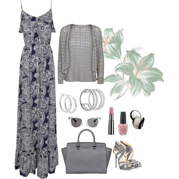 """""""A Study in Grey"""" by lmshull on Polyvore"""