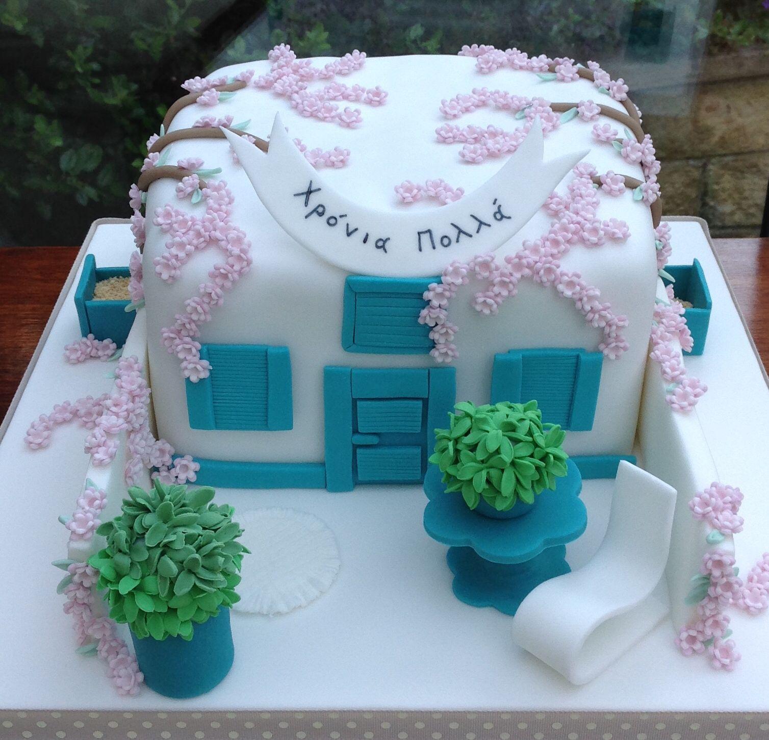 Cypriot themed Birthday Cake Anita B Cakes Album Pinterest