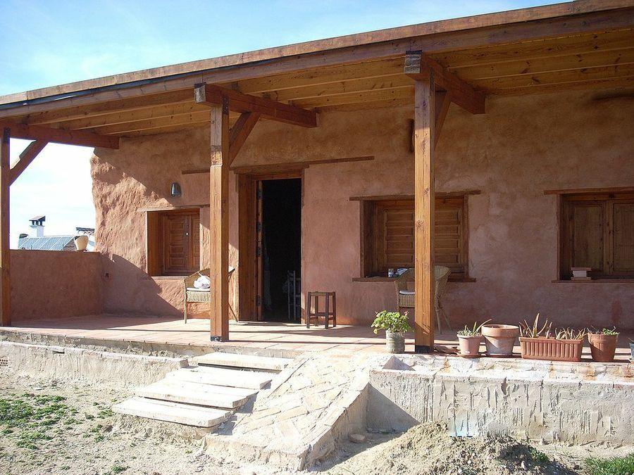 Construcciones sostenibles una casa con balas de paja - Construcciones de casas ...