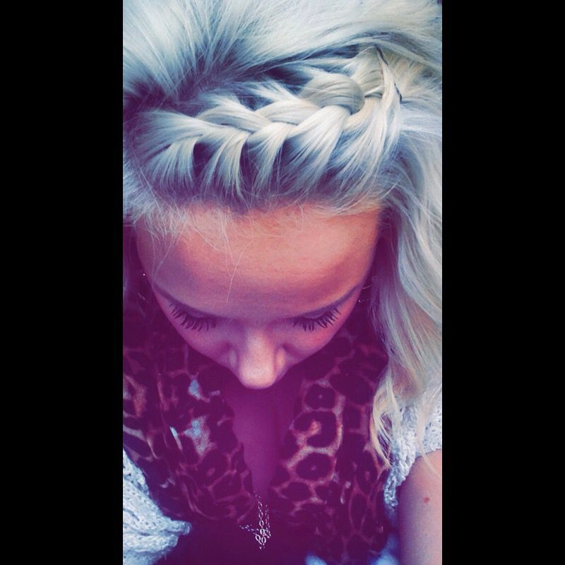 Braided bangs   Hair And Makeupp   Pinterest   Bangs, Hair ...