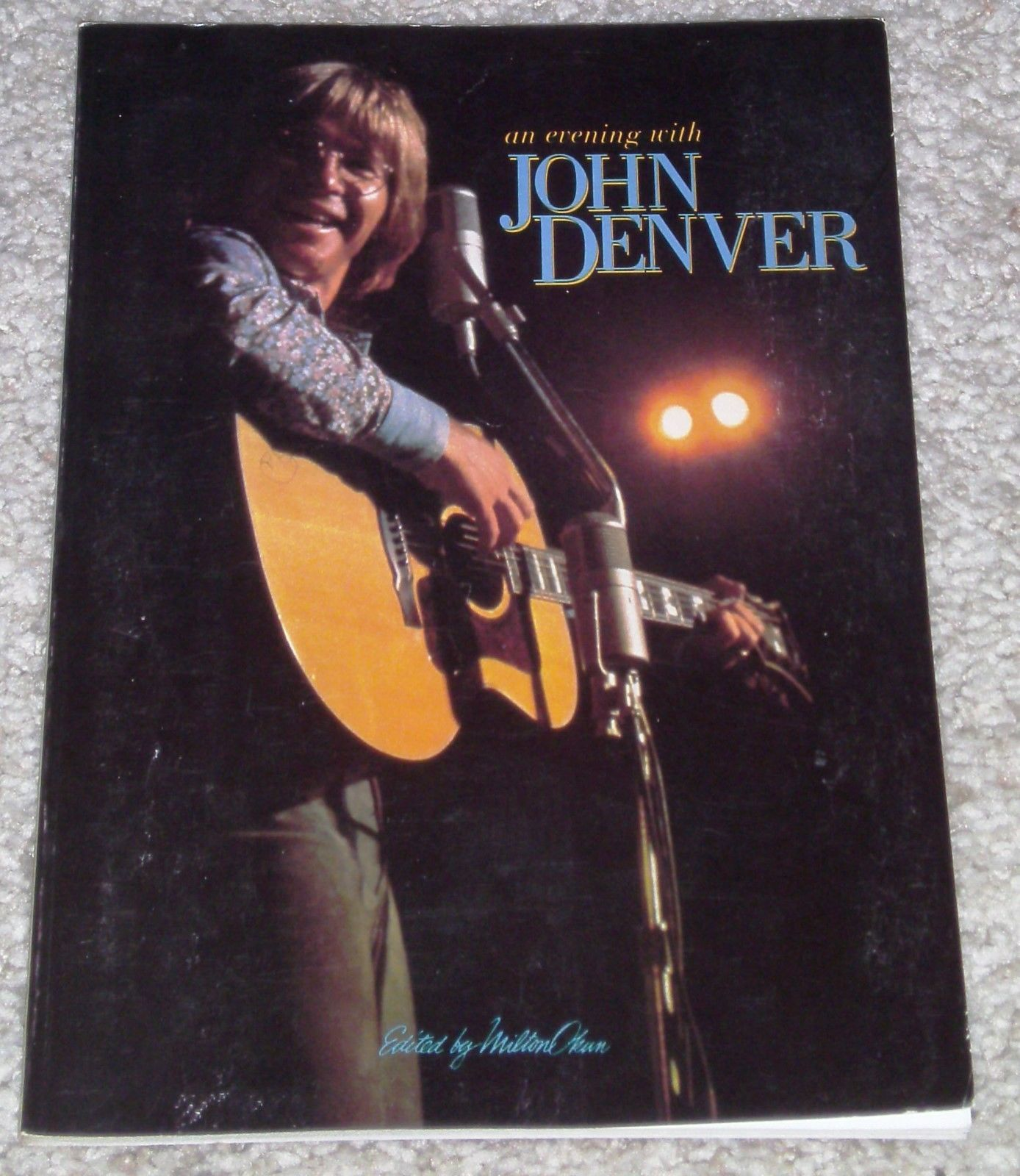 John denver grandma s feather bed sheet music - Details About Songbook John Denver Greatest Hits An Evening With Vocal Guitar 23 Songs 1975