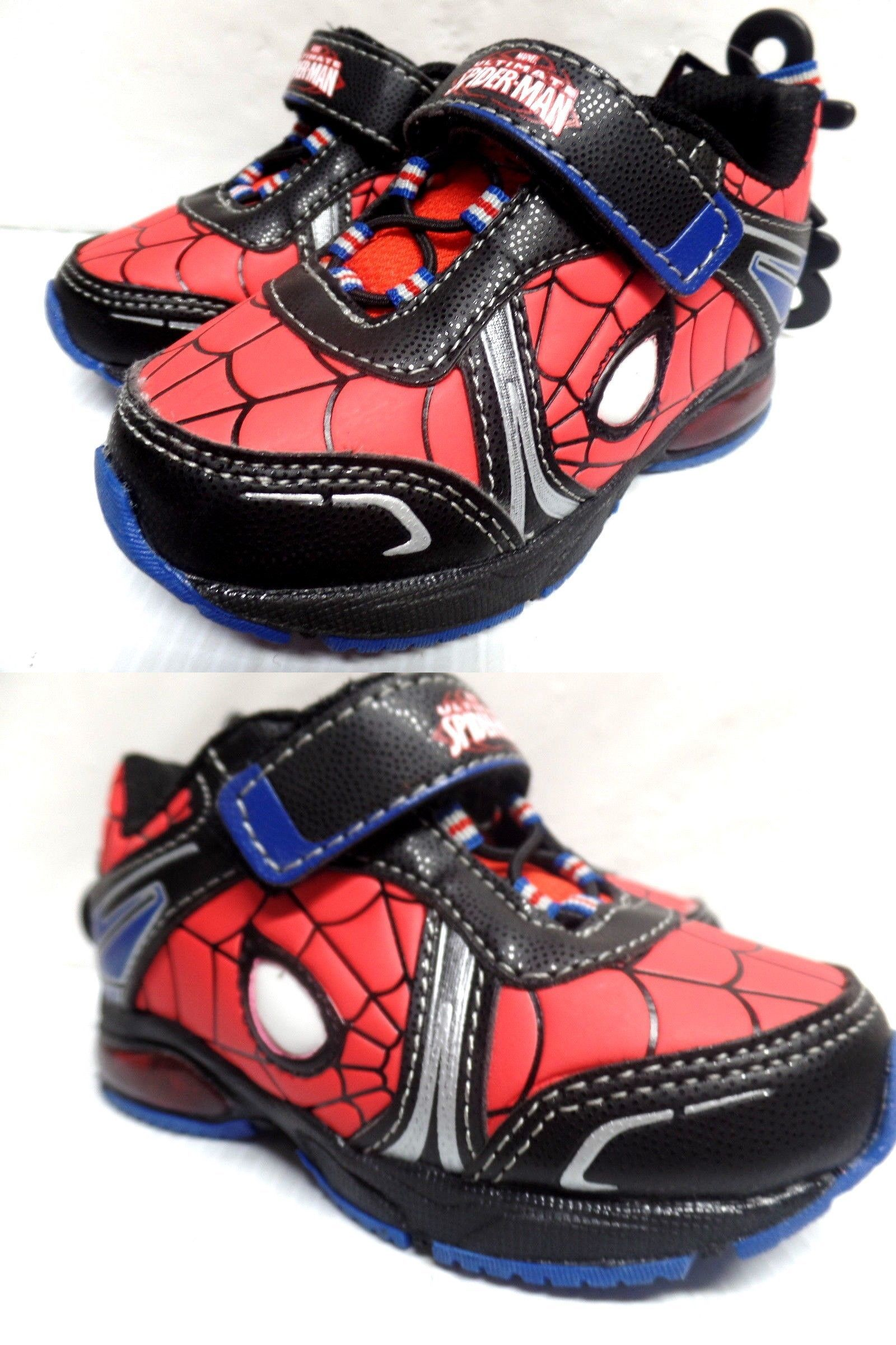 f37e27d7f66 Baby Shoes 147285: Spiderman Avengers Marvel Boys Youth Toddler ...