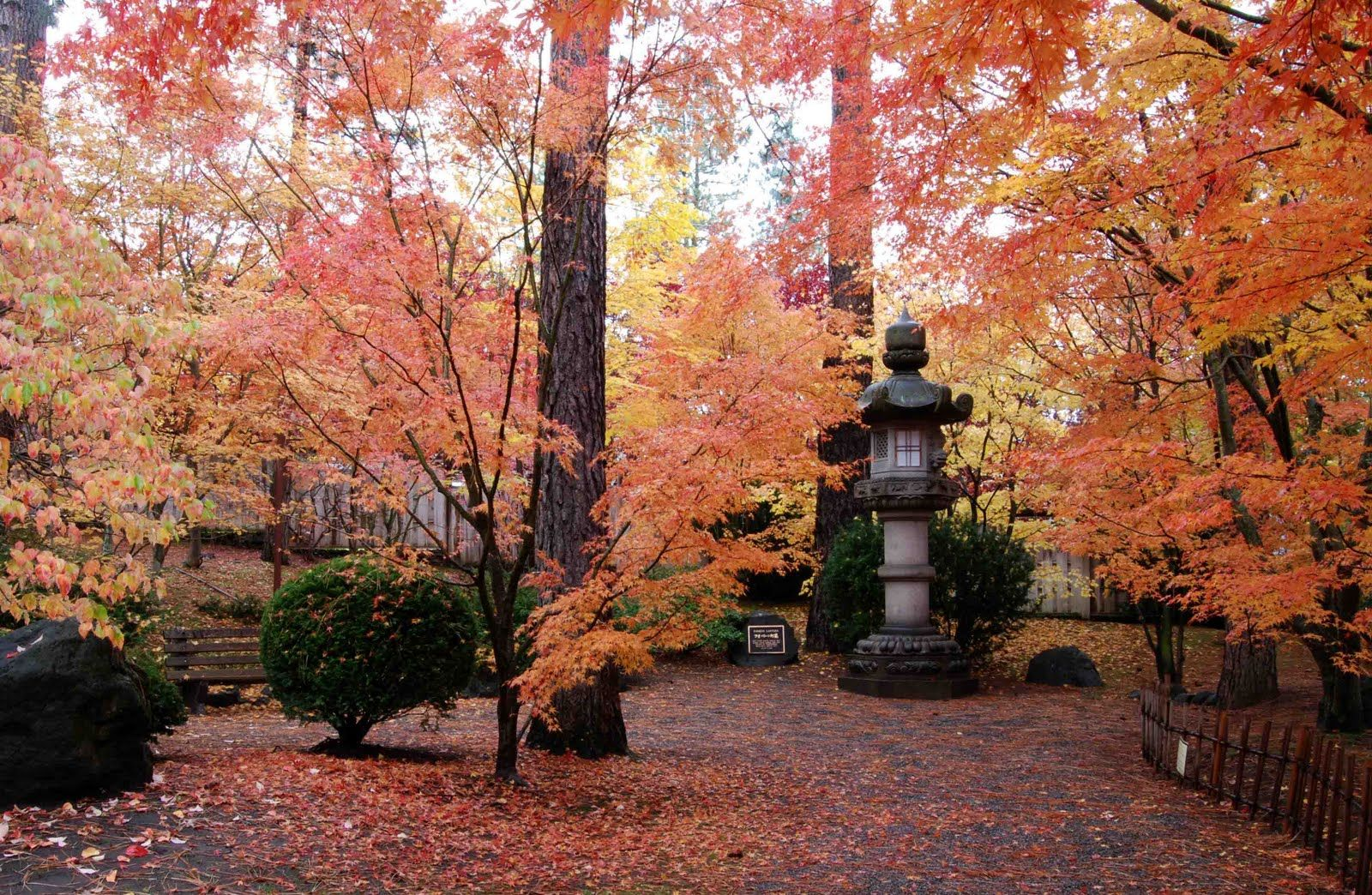 Nishinomiya Tsutakawa Japanese Garden Manito Park