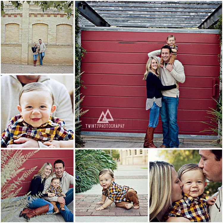 San Antonio Family Photographer: Holiday Mini Fall Session At Pearl Brewery In San Antonio
