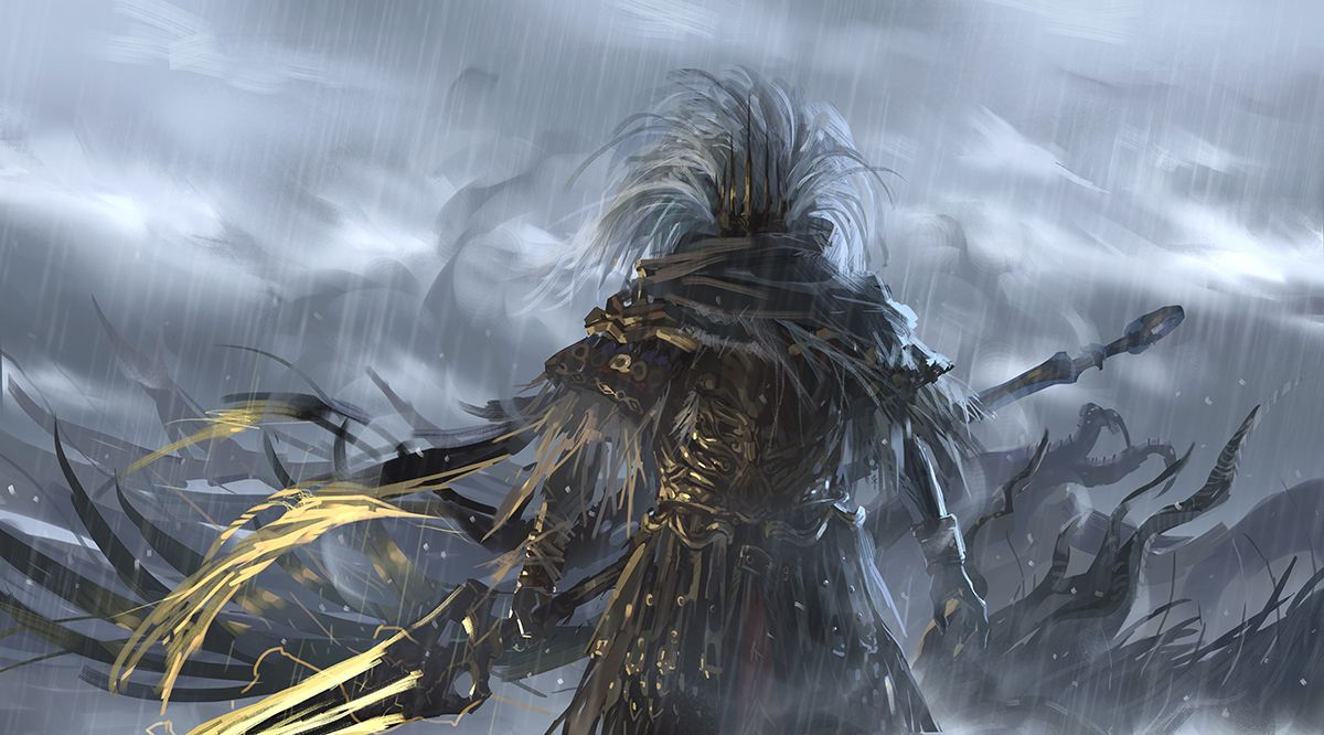 The Nameless King By Seeker Dark Souls Dark Souls Wallpaper
