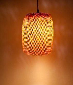Bambus Lampe Geflochten Klein Chinese Display Bamboo Home