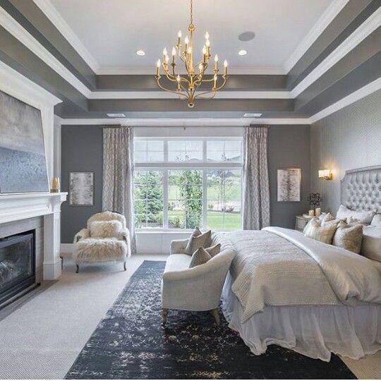 Tray Ceiling Bedroom, Bedroom Ceiling