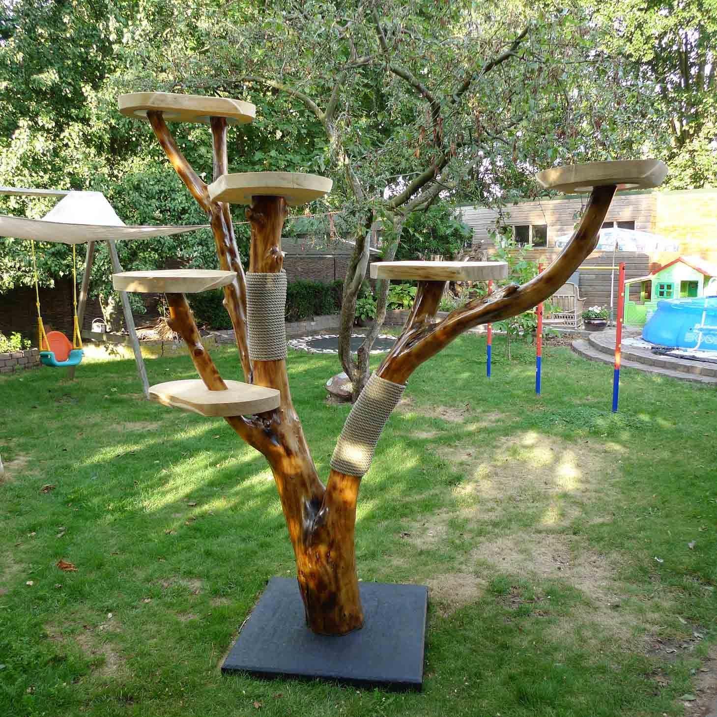 Cat Tree. DIY. Branch. Homemade for Cats. … Diy cat tree