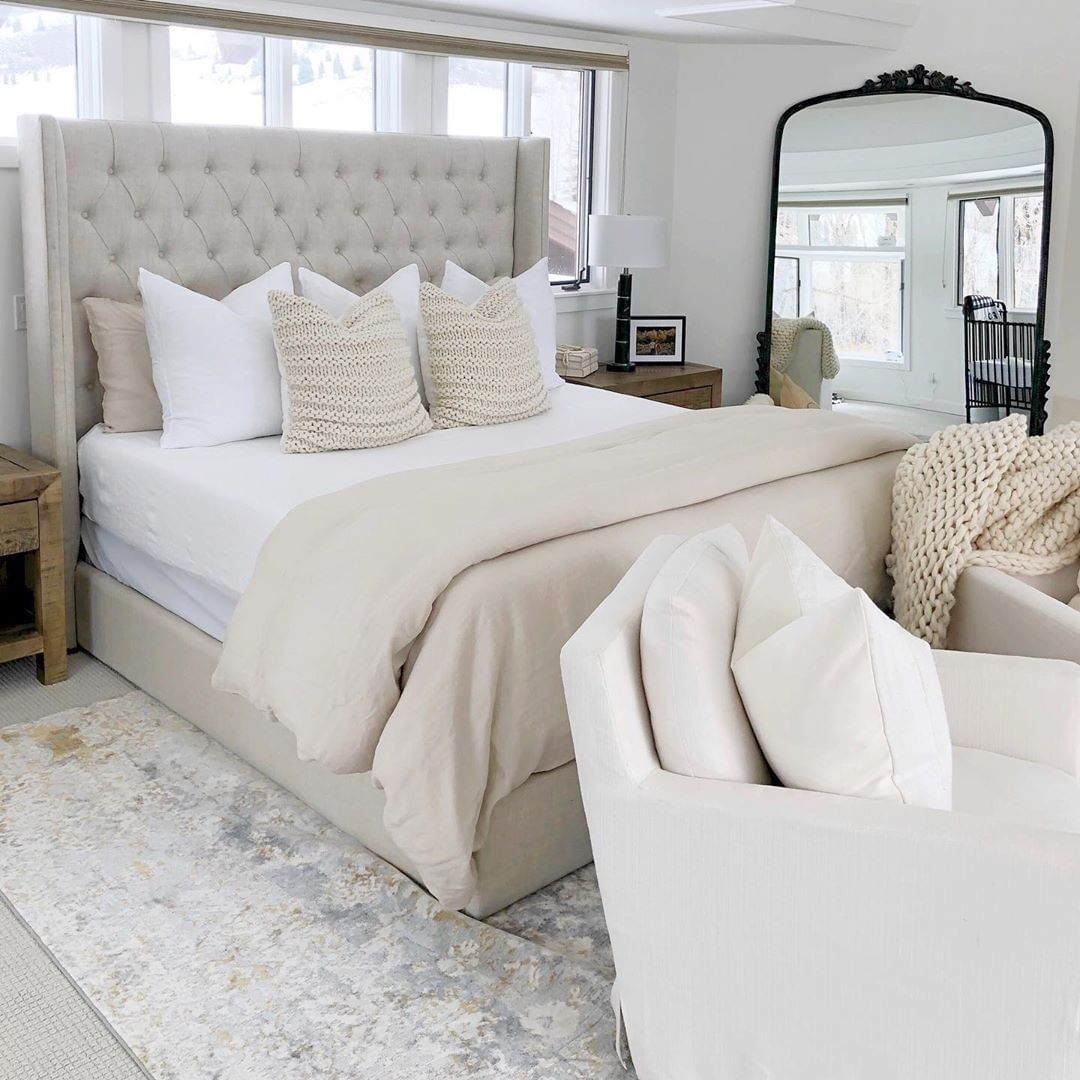 Ltkhome On Instagram Cozy Neutral Bedroom Inspo Care Of Sbkliving Follow Her In The Liketoknow Neutral Bedroom Decor Home Bedroom Bedding Master Bedroom