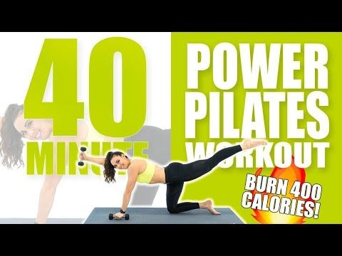40 Minute Power Pilates Workout