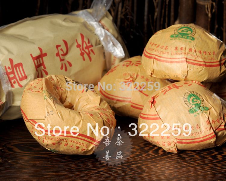 """US $8.99 (Buy here: http://appdeal.ru/3ko2 ) [GREENFIELD] 2014 Xiaguan Toucha Group """"Xiao Fa"""" Ripe Pu Er Tuo Puer Puerh Pu'er Tea Pu-erh tea Pu erh Tea 100g for just US $8.99"""