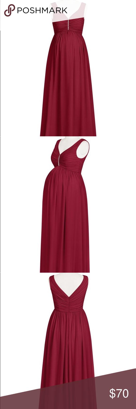 487babf2ee7 I just added this listing on Poshmark  Maroon Maternity Bridesmaid Dress- Azazie  Madison.  shopmycloset  poshmark  fashion  shopping  style  forsale  Azazie  ...
