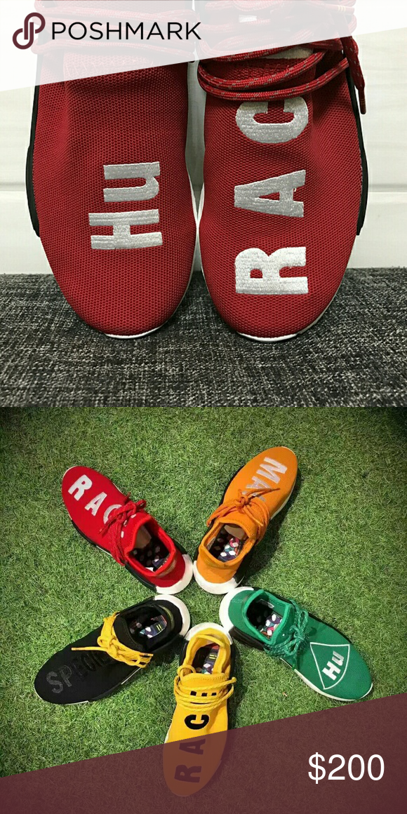 Pharrell Williams Adidas raza humana NMD PW Rojo Pharrell Williams