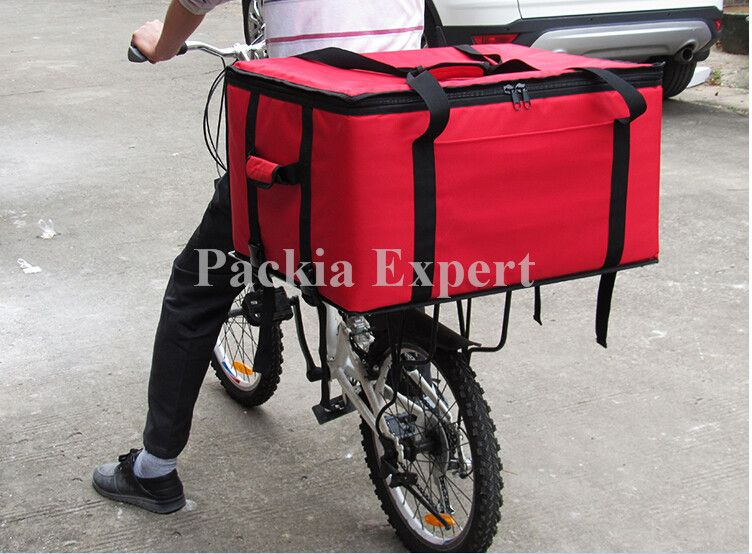 b6600afb48aa 82Lcm 63 48 36 Food delivery bag for motorcycle pizza or cake or juice