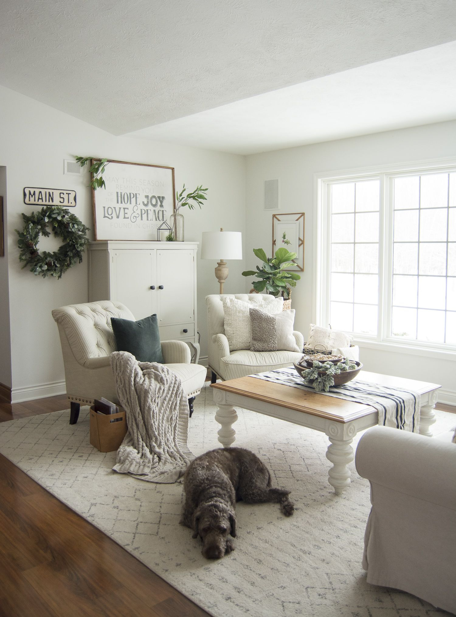 Are You Looking To Extend Your Christmas Decor Into Winter Today I M Sharing My Favorite Transit Winter Living Room Transitional Home Decor Transitional Decor #transitional #decorating #ideas #living #room
