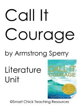 call it courage book report