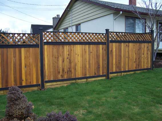 Wood Fence Designs | Wood Fences | Fencing Abbotsford | Wood Fence Installation | Fencing ...