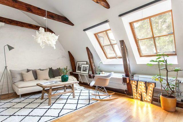 Arredamento Loft ~ Arredare piccoli spazi]: un mini loft a stoccolma home shabby home