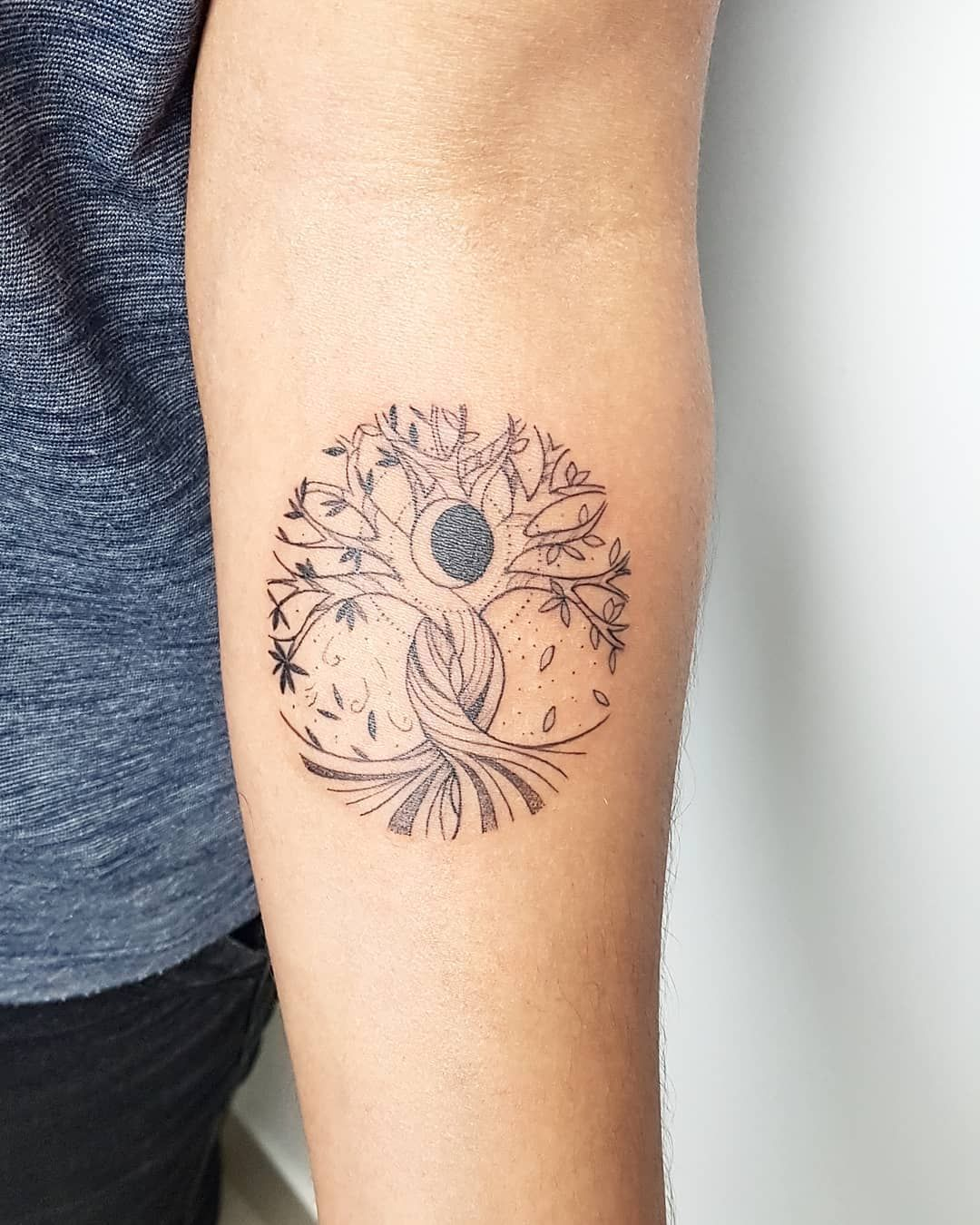 Simple and Easy Pine Tree Tattoo Designs & Meanings
