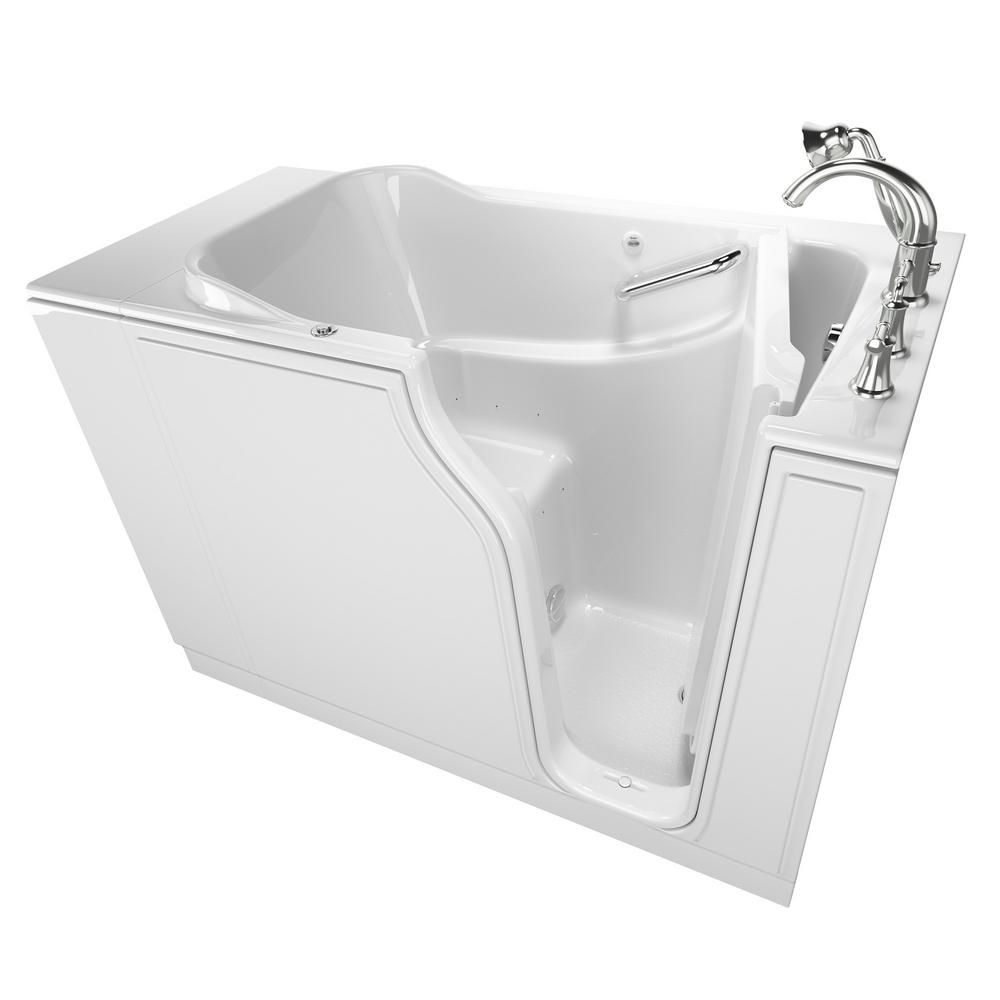 American Standard Gelcoat Value Series 52 in. x 30 in. Right Hand ...