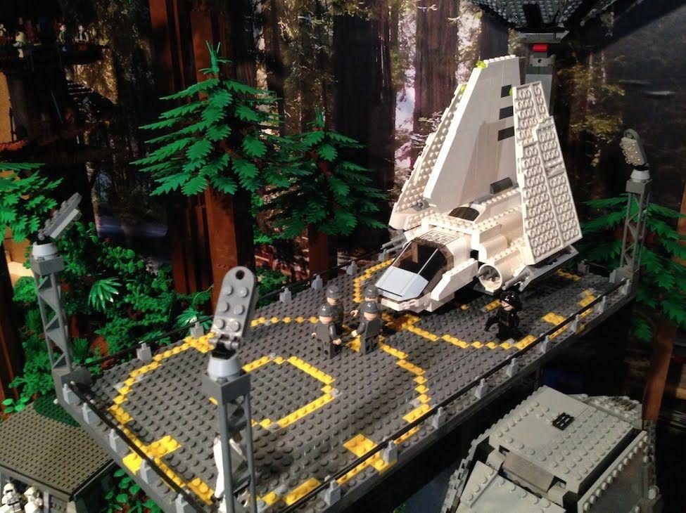 Lego Star Wars Big Endor Moc Base Lego Star Wars Lego