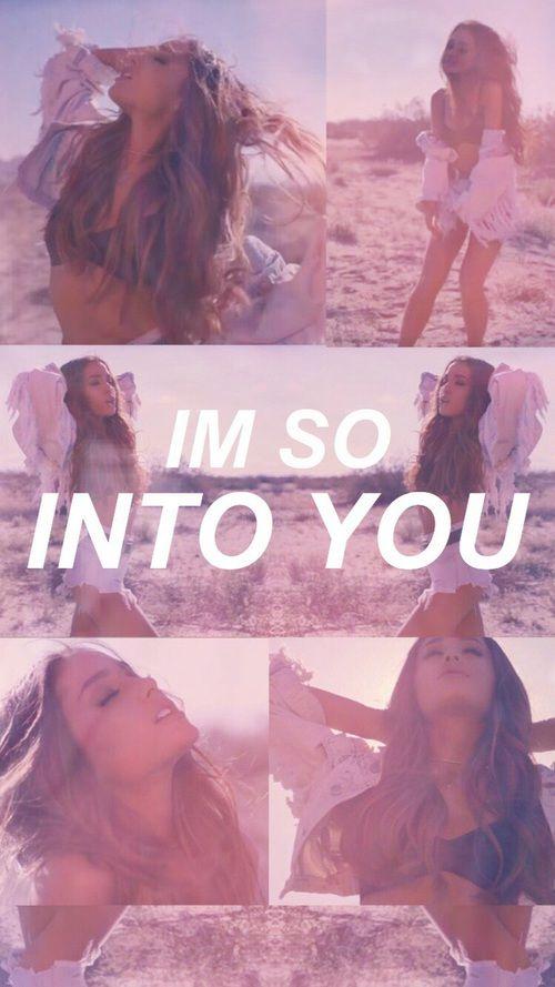 Imagem De Ariana Grande Into You And Wallpaper