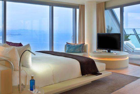 W Hotel Barcelona Wow Suite Bedroom Chambre Design Hotel