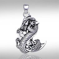 Dragon clutching celtic moon silver pendant tp992 inspired with dragon clutching celtic moon silver pendant tp992 inspired with a celtic twist the dragon aloadofball Choice Image