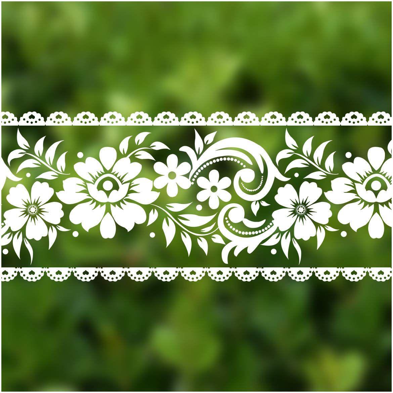 Veelike Transparent Removable Wallpaper Wall Stickers Window Stickers Wall Wallpaper