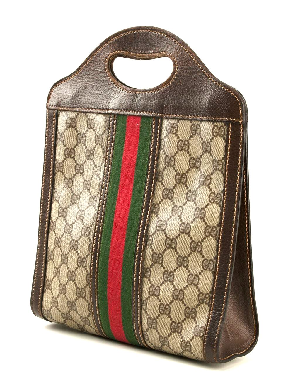 17ab9be77427 1970s Gucci Tote Bag image 2
