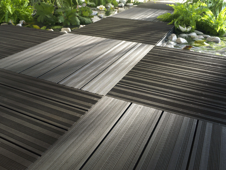 Dalle En Composite Castorama Revetement Terrasse Sol Exterieur Dalle Bois