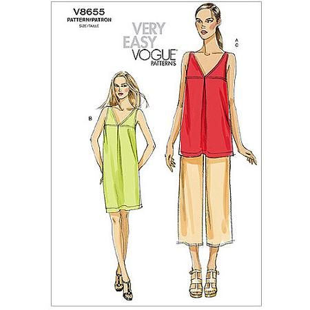 Vogue Pattern Misses' Tunic Dress And Pants F40 40 40 40 40 40 Gorgeous Walmart Dress Patterns