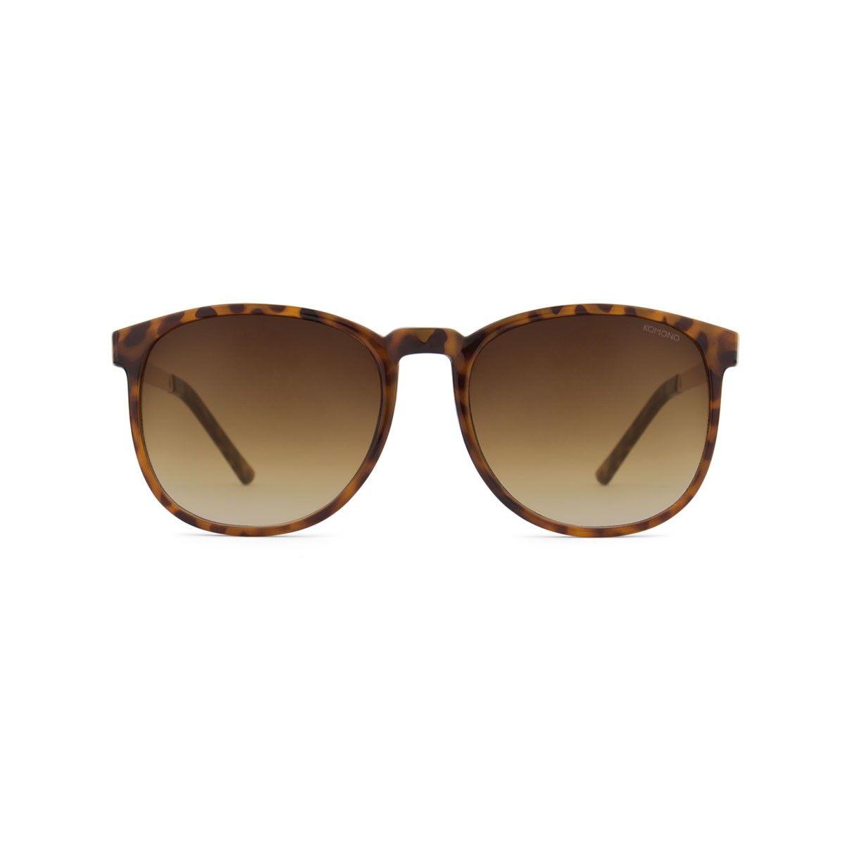 Komono Francis Metal Rose Gold/Tortoise brown Lunettes de Soleil v793a