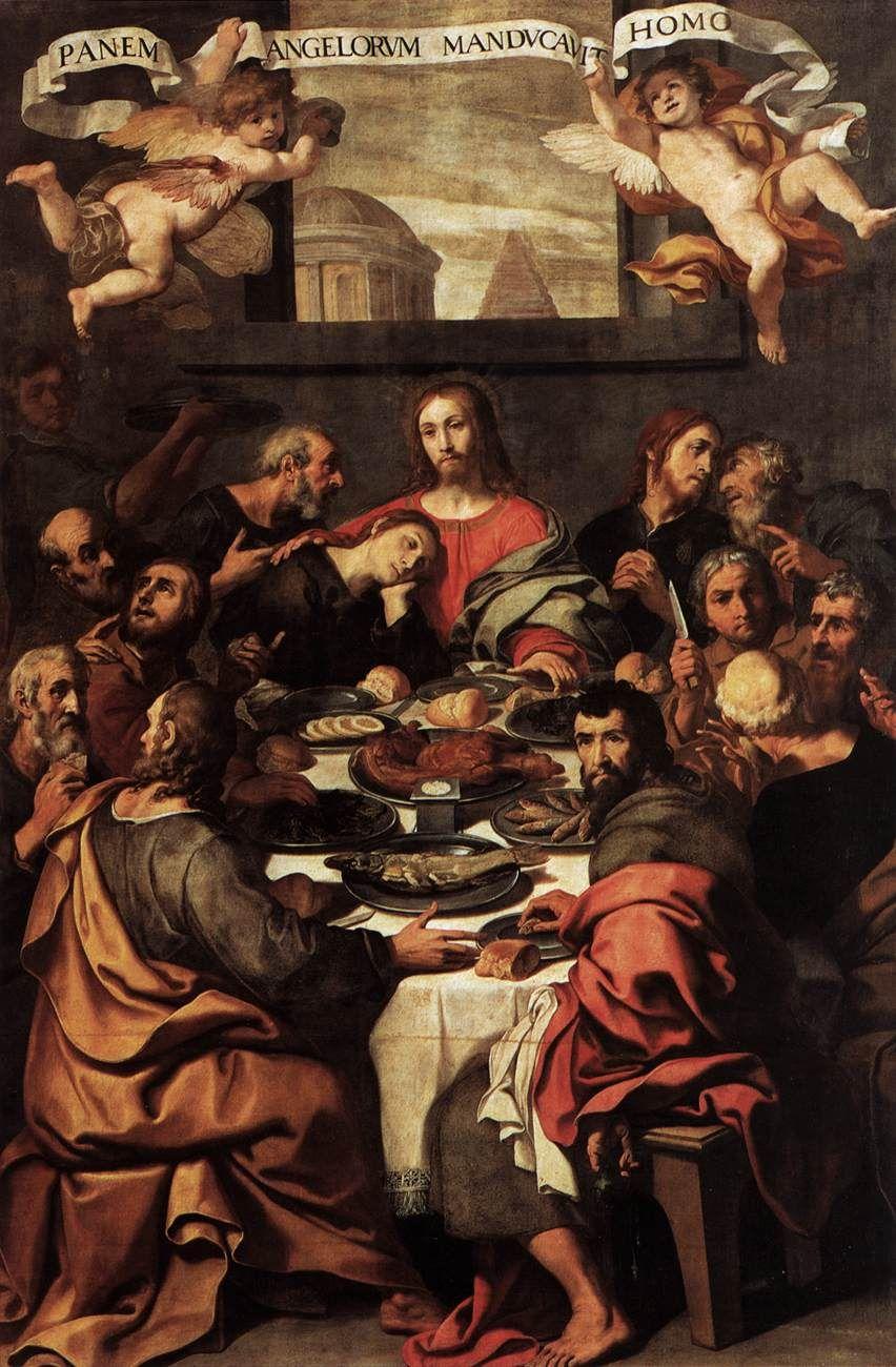 Ultima Cena - Daniele Crespi - 1624-1625 - Pinacoteca di Brera
