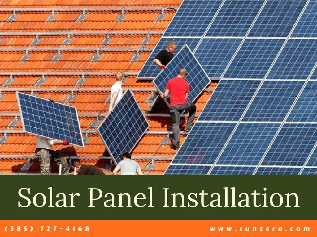Sunzera, being among the best solar panels company in Rochester NY