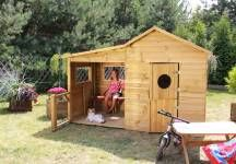 Baumotte Spielhaus Holz Kinderspielhaus Heidi Garten Pinterest