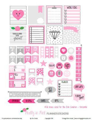 Pastel Winter Planner Stickers – Free Printable   Vintage Glam Studio   Bloglovin'