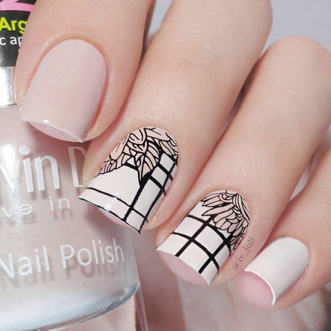 Elegant and formal stamping nail art design review from bornprettystore.com  customer - Elegant And Formal Stamping Nail Art Design Review From