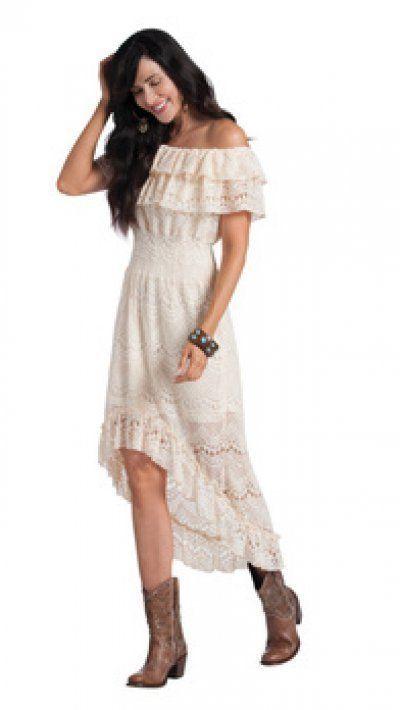 Western High Low Dresses Cheap