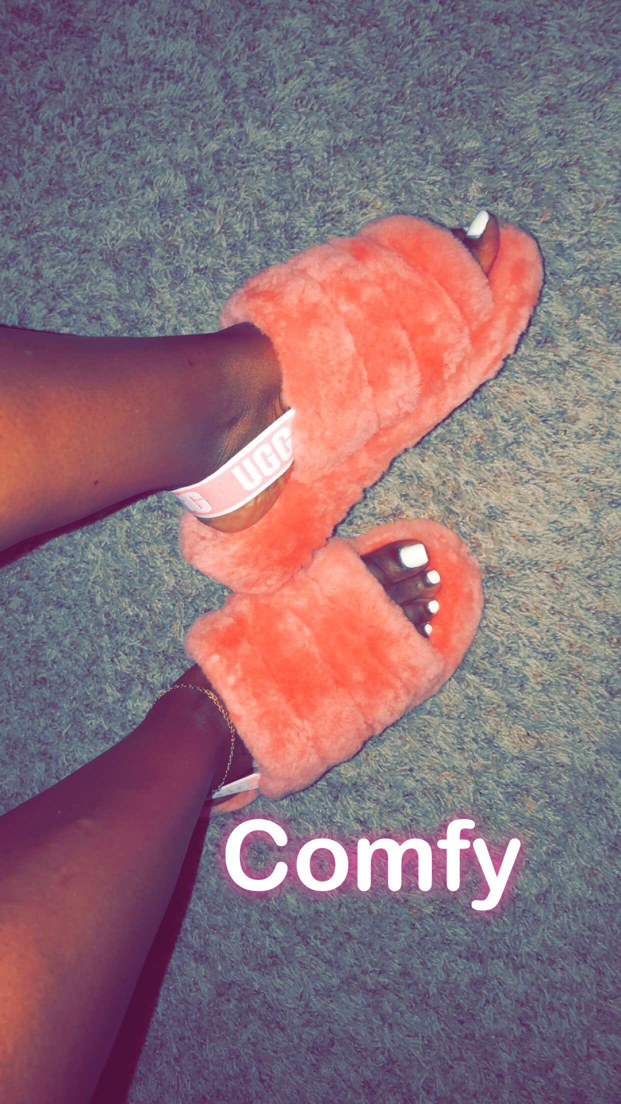 0dac5084d256 Comfy Women s Fluff Yeah Slide Sandal